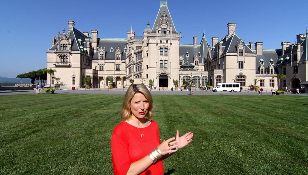 Samantha Brown Tours The Biltmore Estate In Asheville Nc