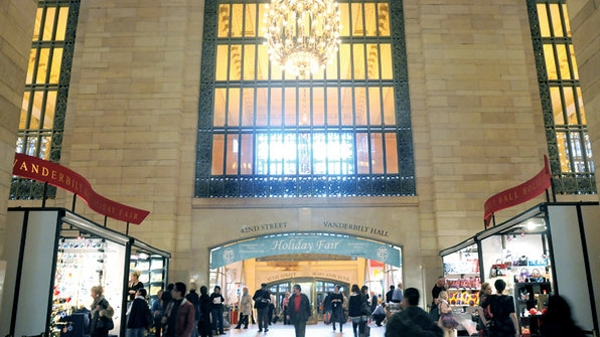 Holiday Fair at Grand Central Station New York