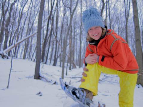 Outdoor Adventures:  Snowshoeing