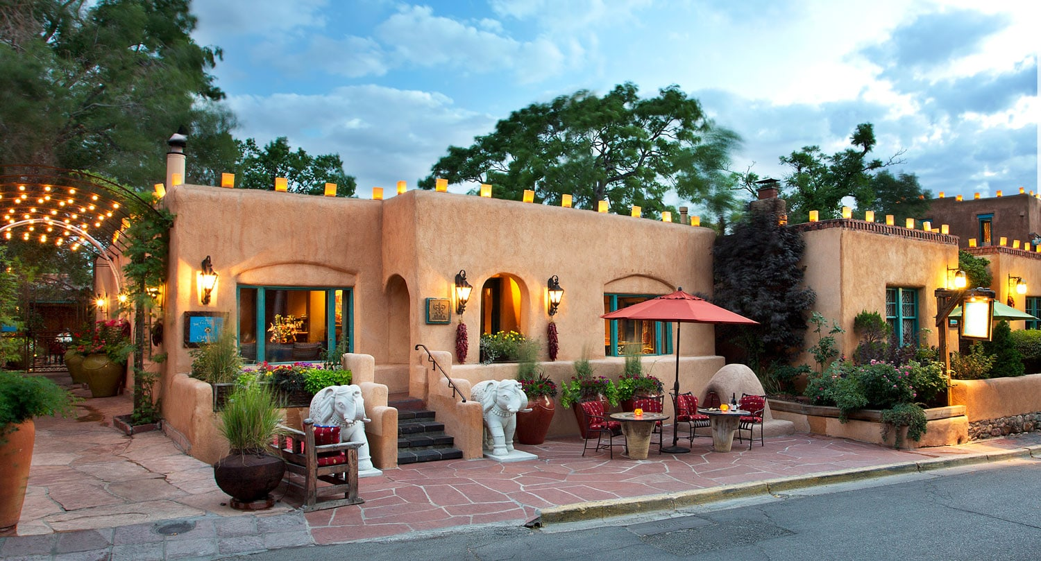Samantha brown my favorite secret hotel in santa fe new for The hidden place hotel