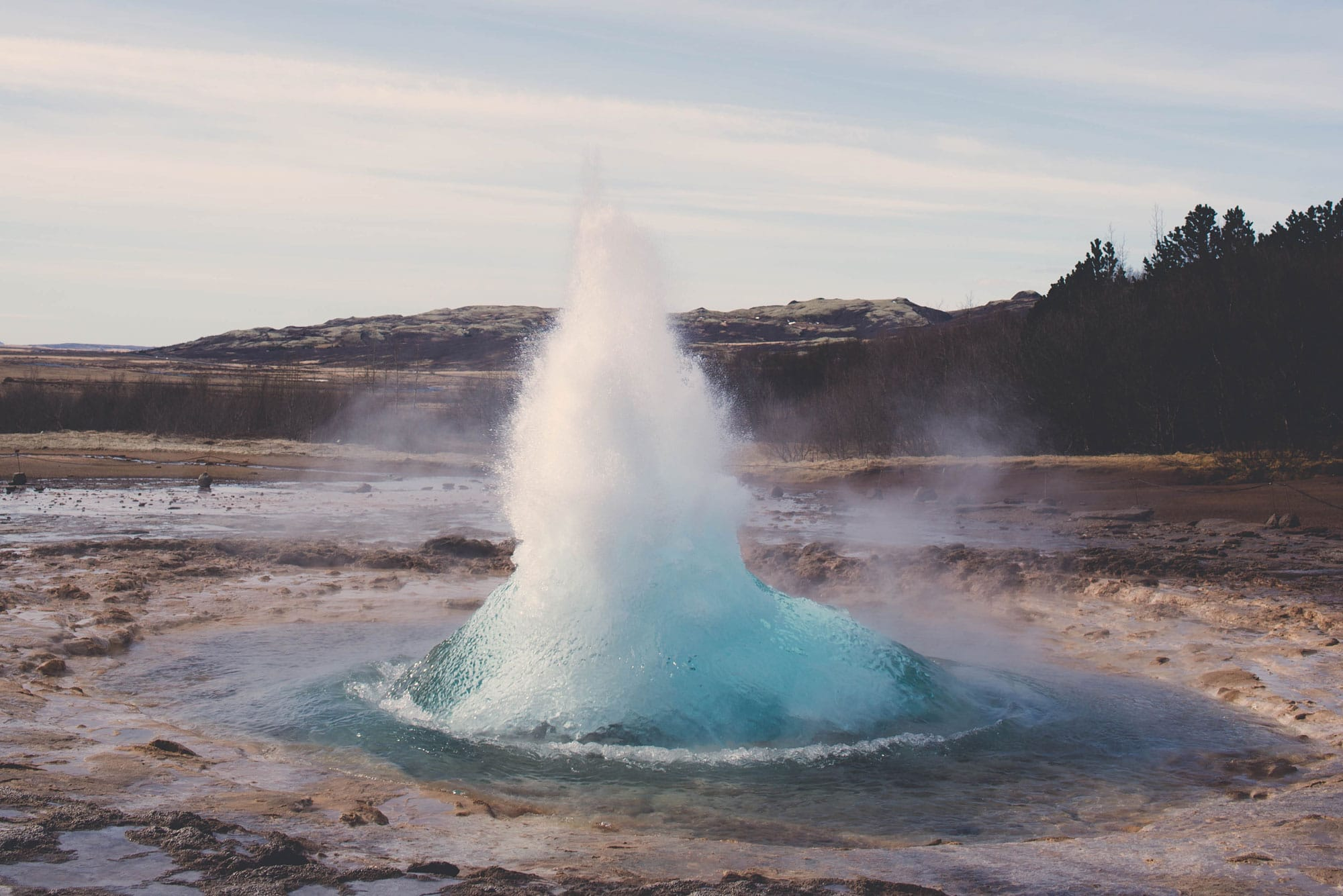 If You Pay Attention To Travel Trends, You Know Iceland Is White-hot. On My Trip, I Visited Iceland's Strokkur Geyser-- An Absolute Must-do!