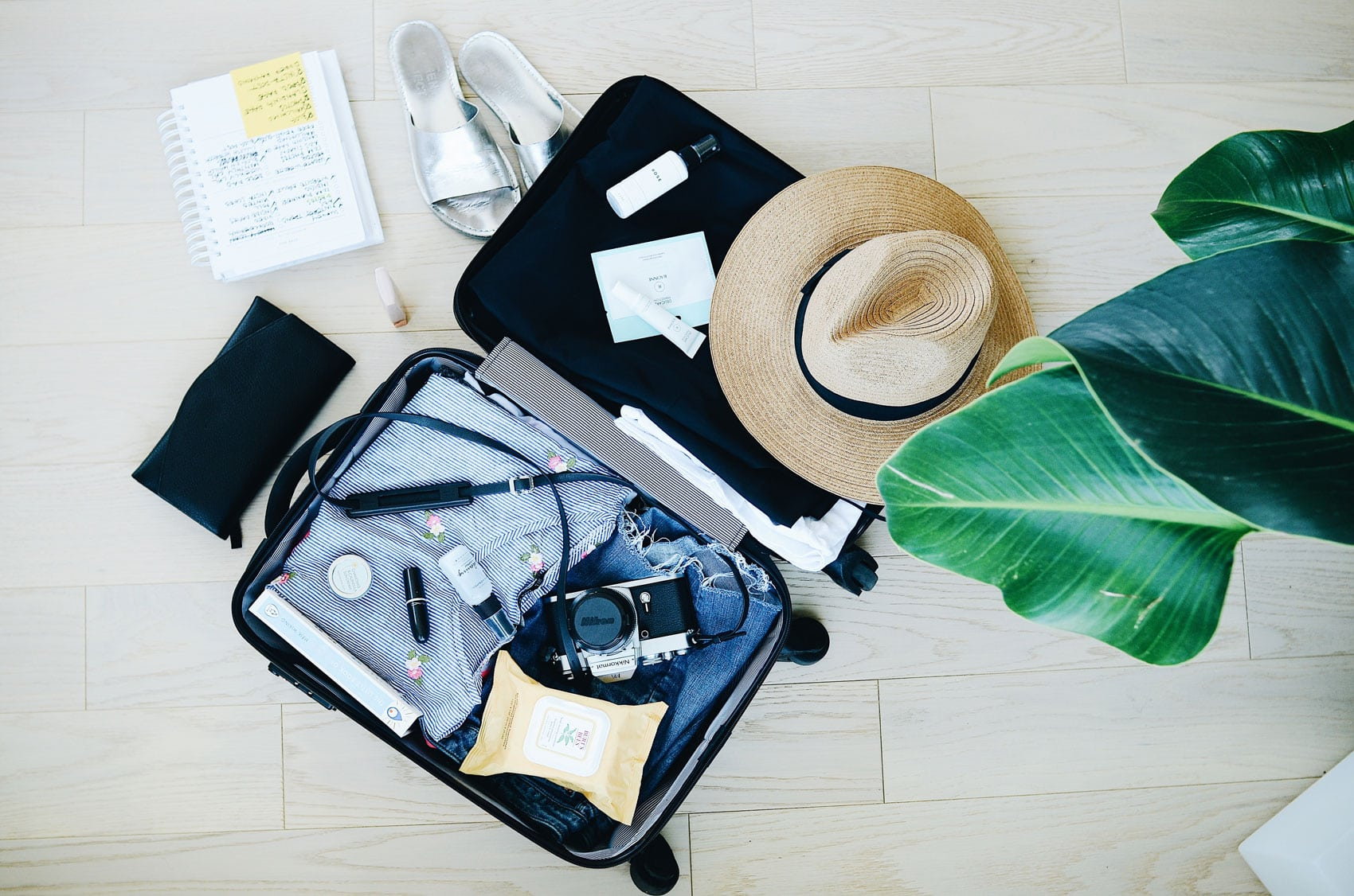 How to pack a suitcase for a long weekend