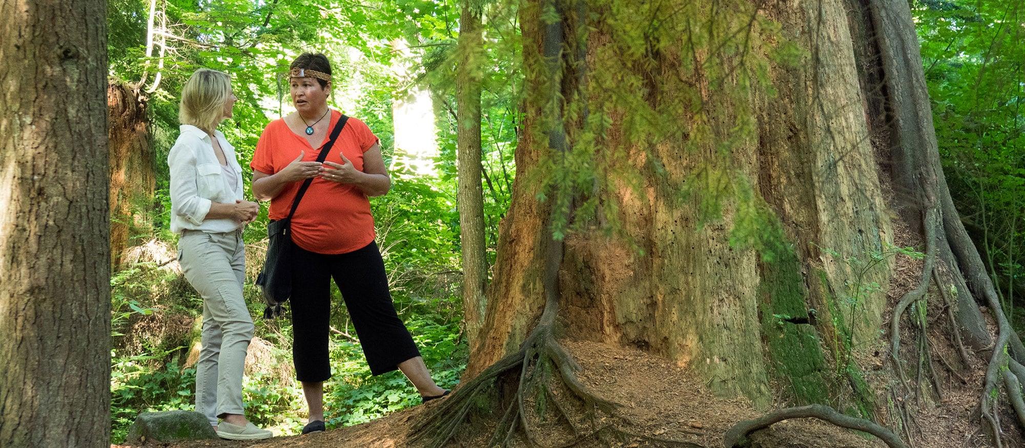 Samantha Takes A Talking Trees Tour - Vancouver