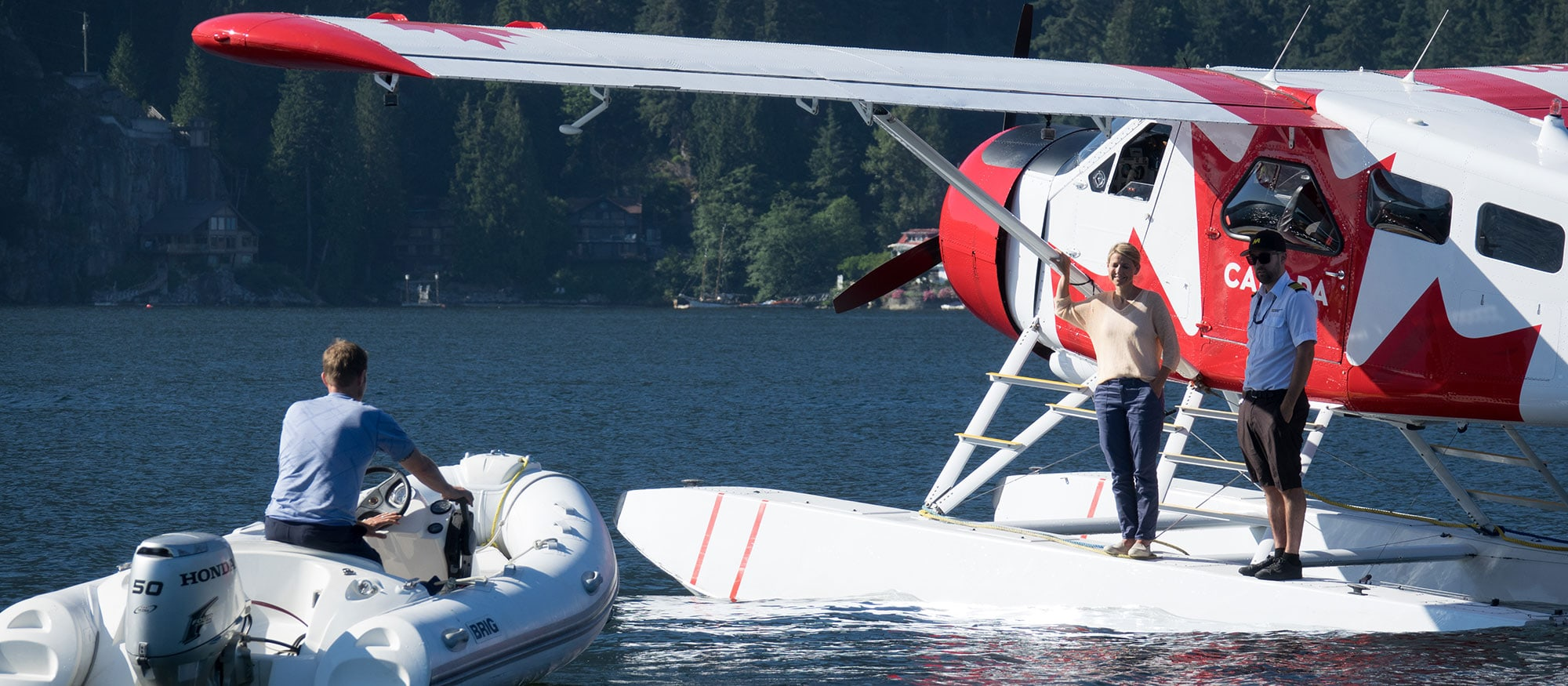 Harbor Seaside Float Planes